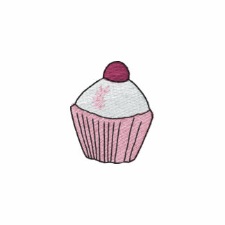 Embroidered Cupcake