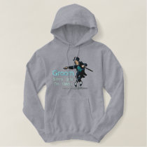 Embroidered Dancing Groom Embroidered Hoodie