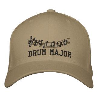 Embroidered Drum Major Band Cap Baseball Cap