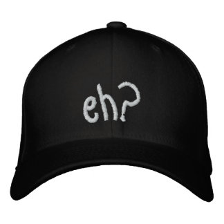 embroidered eh? CANADA hat Embroidered Baseball Cap