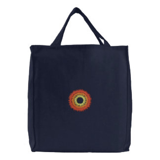 Embroidered explosion Bag