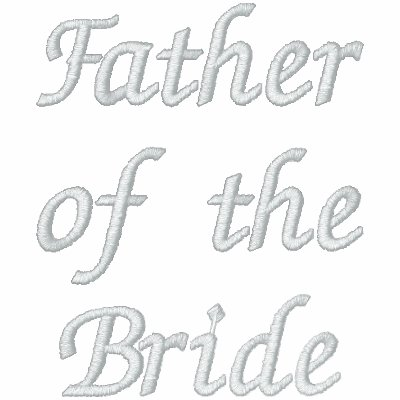 Embroidered father of the bride embroidered polo shirt for Custom embroidered polo shirts no minimum order
