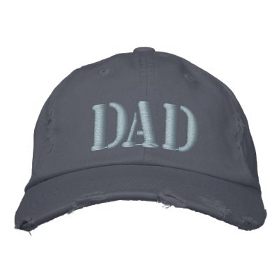 Embroidered Father's Day Dad Cap Embroidered Hat