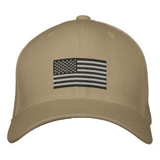 Embroidered Flag Embroidered Baseball Hat