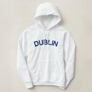 Embroidered Fleece DUBLIN hoodie