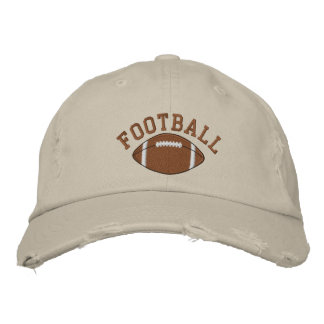 Embroidered Football Cap