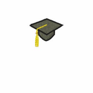Embroidered Graduation Cap Customizeable Polo