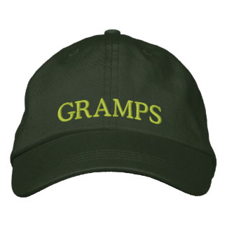 Embroidered Grandpa Hat