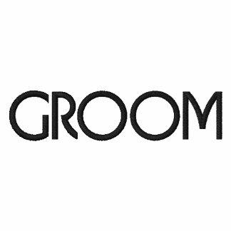 Embroidered Groom Golf Shirt Polo