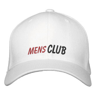 Embroidered Hat Mens Club Embroidered Baseball Cap
