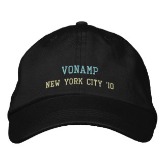 Embroidered Hat - VonAmp in NYC