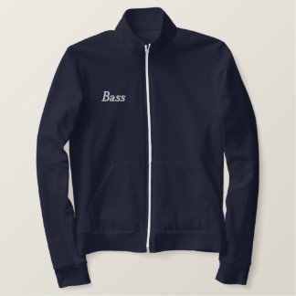Embroidered I Play Bass Jacket