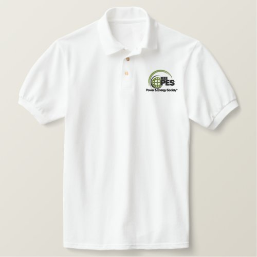 Embroidered IEEE PES Men's Polo Shirts