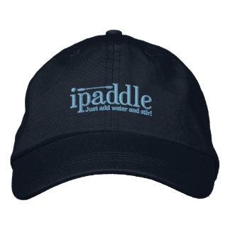 Embroidered ipaddle Cap