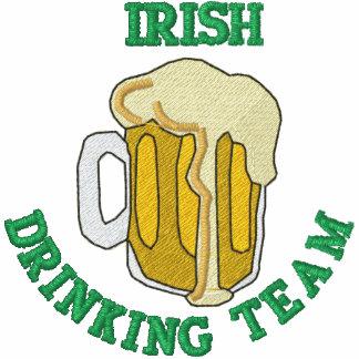 Embroidered Irish Drinking Team Sweatshirt Hoodie