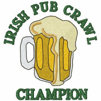 Embroidered Irish Pub Crawl Champion Polo Shirt
