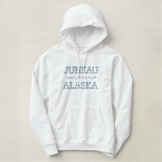 Embroidered Juneau Alaska Hoodie