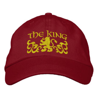 Embroidered King Cap/Hat Cap