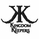 Embroidered Kingdom Keepers Polo-Black Logo Embroidered Shirt