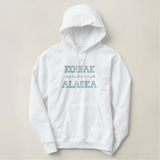 Embroidered Kodiak Alaska Hoodie