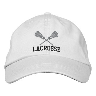 Embroidered Lacrosse Cap