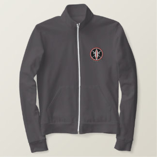 Embroidered Lance Missile Sweats Embroidered Jacket