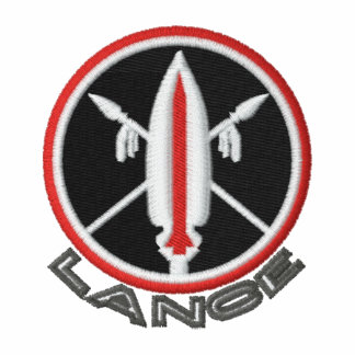 Embroidered Lance Missile Sweats Hoody