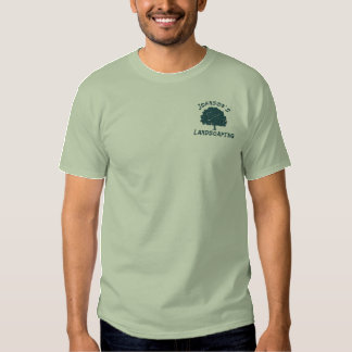 Embroidered Landscaping Embroidered T-Shirt