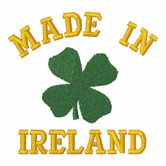 Embroidered Made In Ireland Polo Shirt Embroidered Shirts