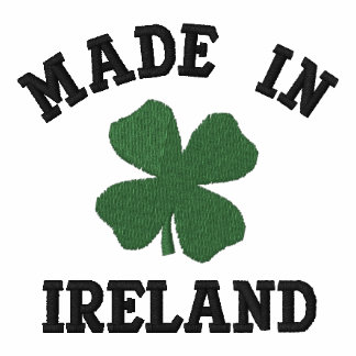Embroidered Made In Ireland T-Shirt