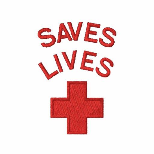 Embroidered Medical Lifesaver saves lives