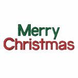 Embroidered Merry Christmas Polo