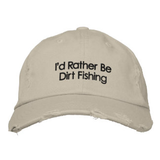 Embroidered Metal Detecting Hat