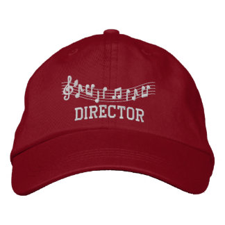 Embroidered Music Director Cap Embroidered Baseball Caps