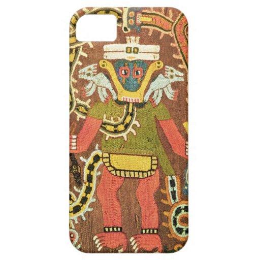Embroidered mythological figure, Paracas Necropoli iPhone 5 Case