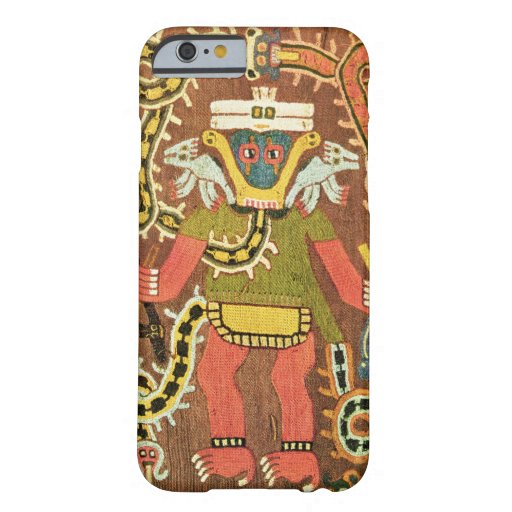 Embroidered mythological figure, Paracas Necropoli iPhone 6 Case