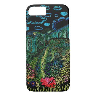 embroidered nature iPhone 8/7 case