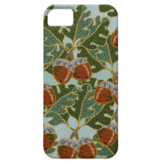 Embroidered Oak Leaves and Acorns iPhone 5 Covers