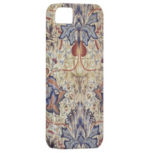 Embroidered Panel Morris and Company photo print iPhone 5 Cases