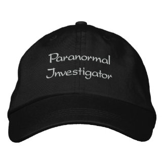 Embroidered Paranormal Investigator Hat