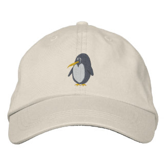 Embroidered Penguin Hat