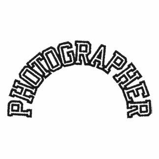 Embroidered Photographer Shirt Embroidered Polo Shirt