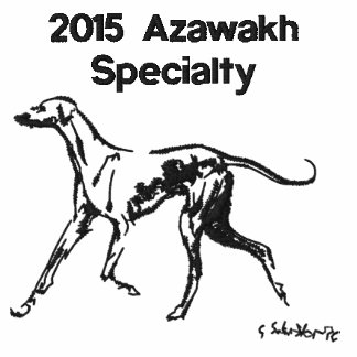 Embroidered Polo for the 2015 Azawakh Specialty