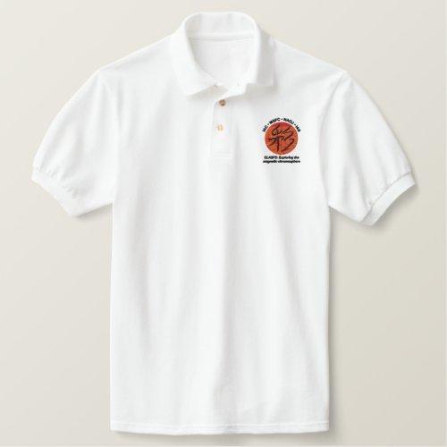 EMBROIDERED polo shirt with kanji_based logo