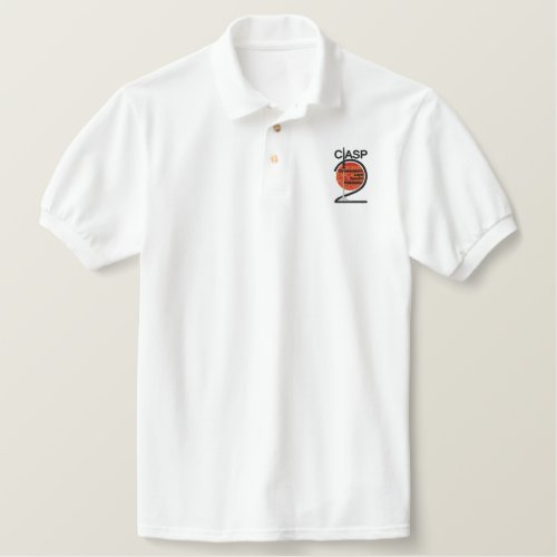 EMBROIDERED polo with 2 logo