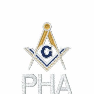 Embroidered Prince Hall Mason Square and Compass Jackets