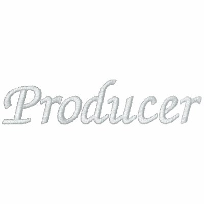 Embroidered Producer Polo Shirt