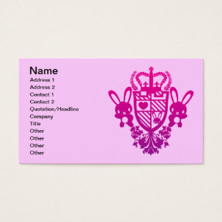 Embroidered_Rabbit Business Card