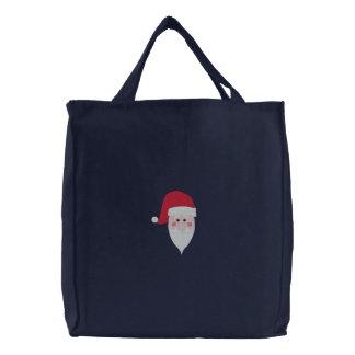 Embroidered Santa Bag