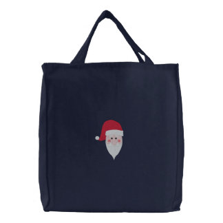 Embroidered Santa Bag